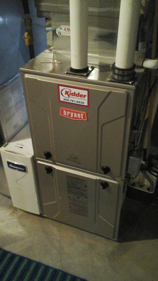 Albion, MI - Bryant furnace repair
