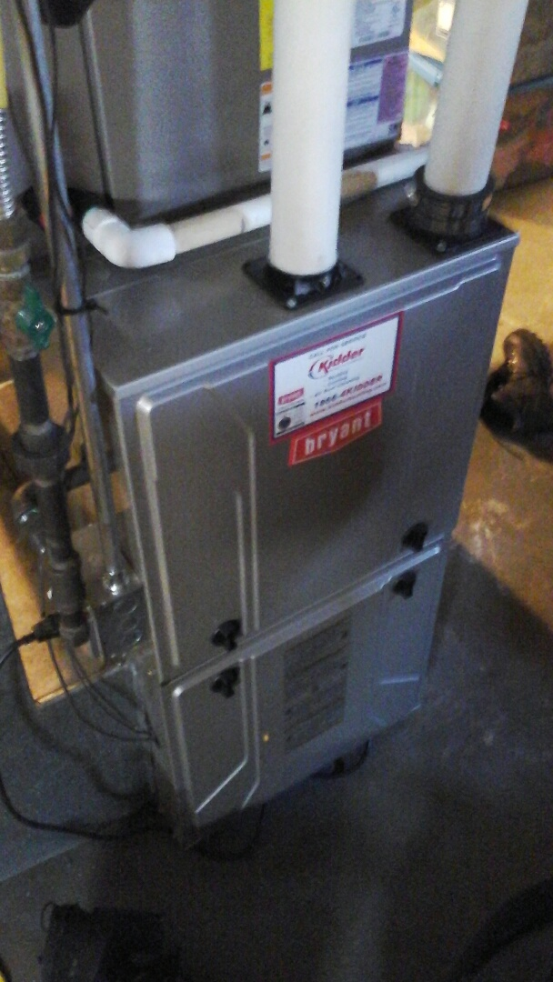 Tekonsha, MI - Performed a precision tune-up on a 96% efficient Bryant furnace with a 16 � 25 � 4 media air filter and condensate pump.