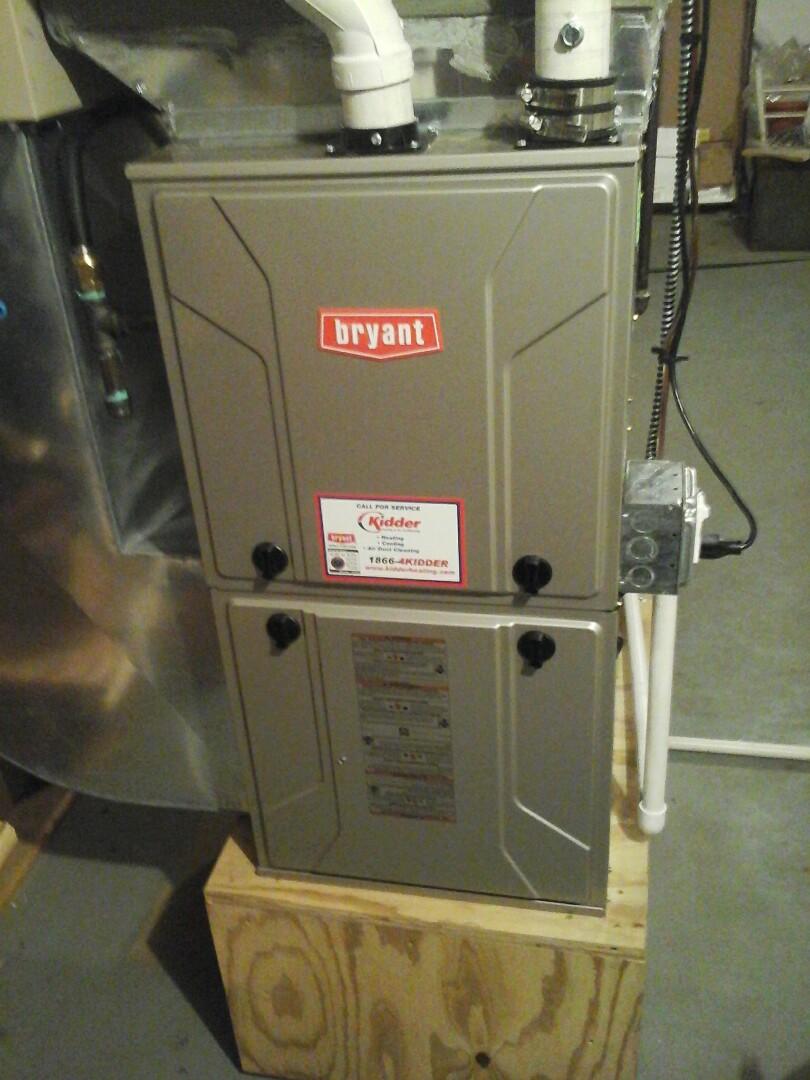 Bellevue, MI - Furnace tune up on a Bryant 925TA