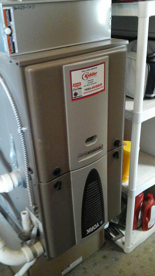 Ceresco, MI - Downflow York furnace repair