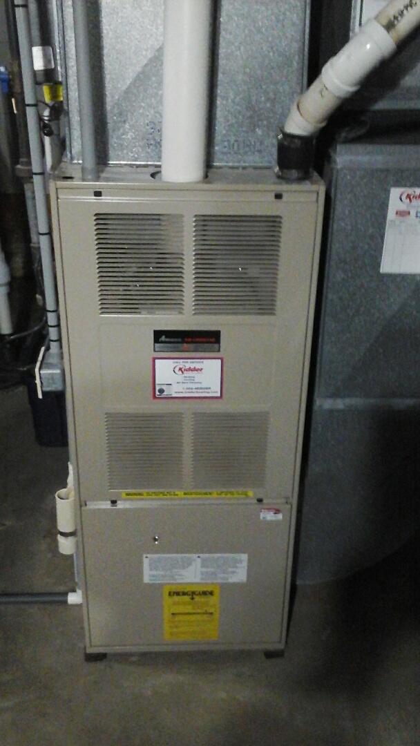 Ceresco, MI - Amana furnace repair bad inducer motor