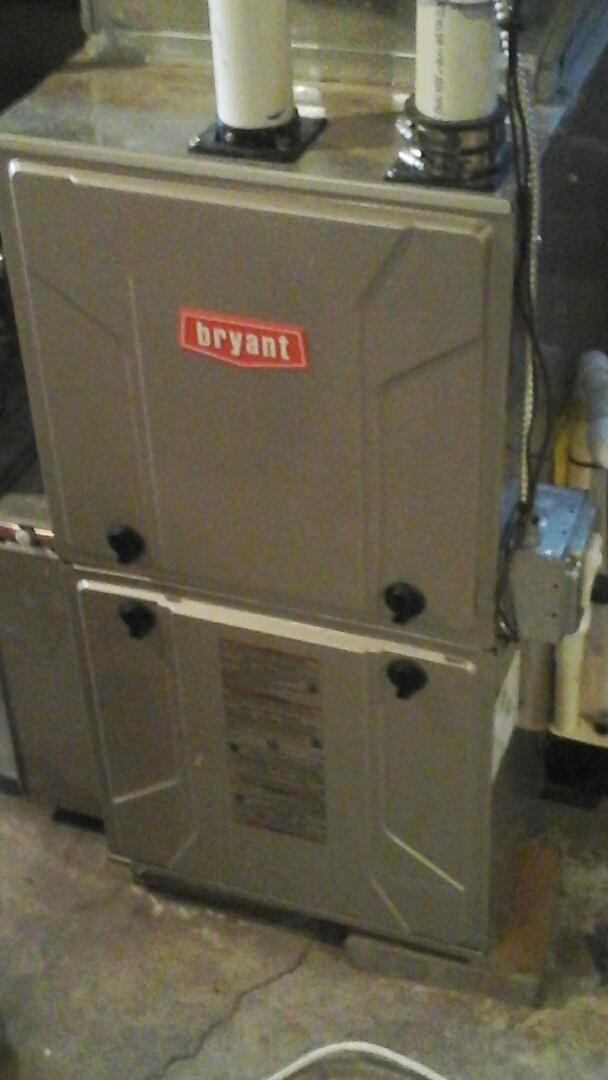 Ceresco, MI - Bryant furnace repair