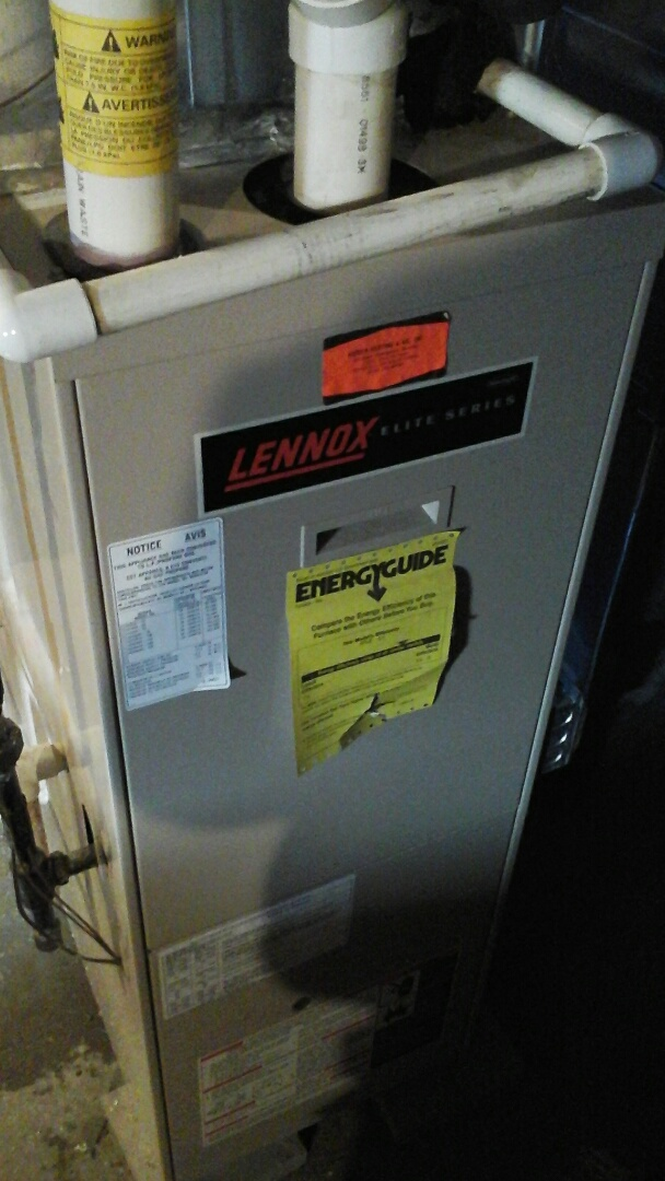 Albion, MI - Emergency replacement of a pressure switch on a 96.6% efficient furnace.