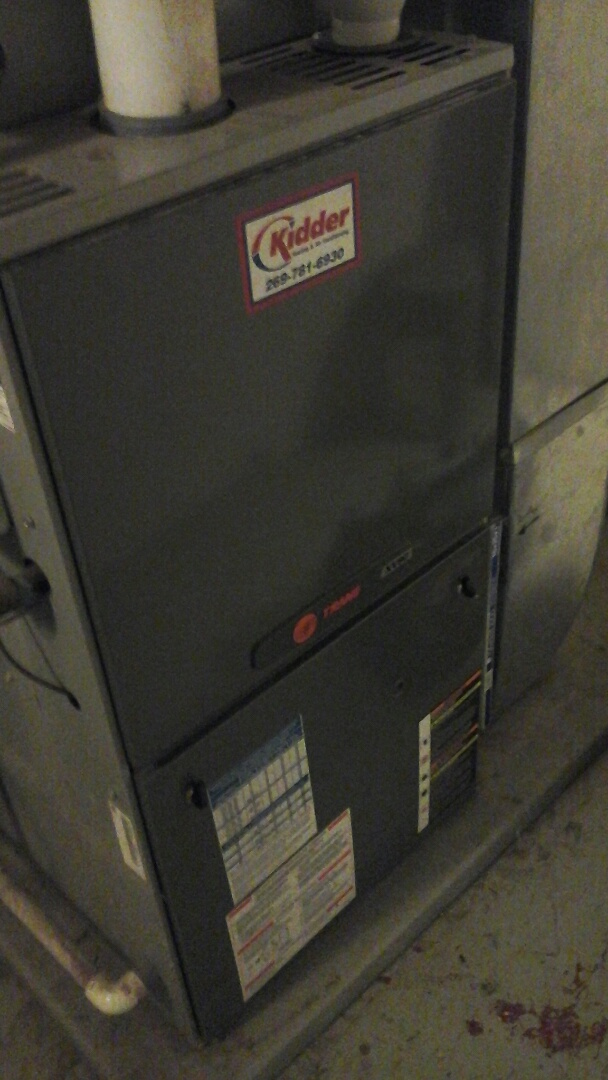 Coldwater, MI - Trane furnace electrical problems from power outage