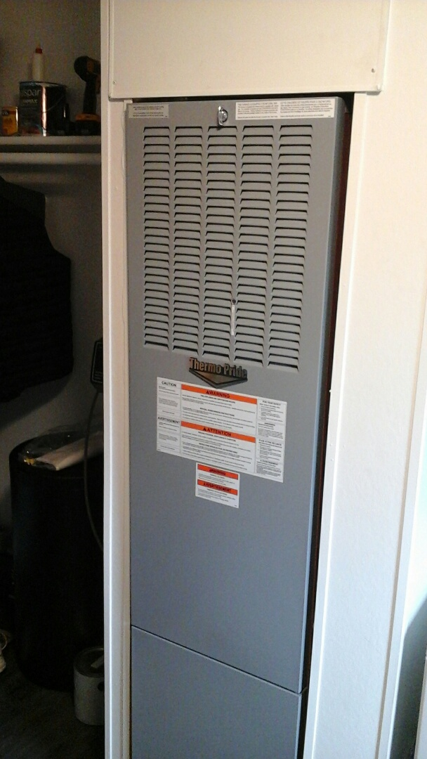 Marshall, MI - Installed new mobile home furnace