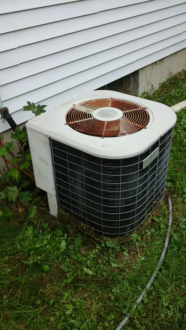 Marshall, MI - Removal of A/C unit from residence and hauled it away.