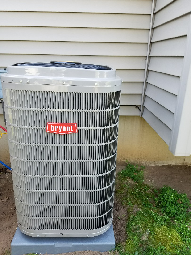 Marshall, MI - Installed new Bryant two stage air conditioner