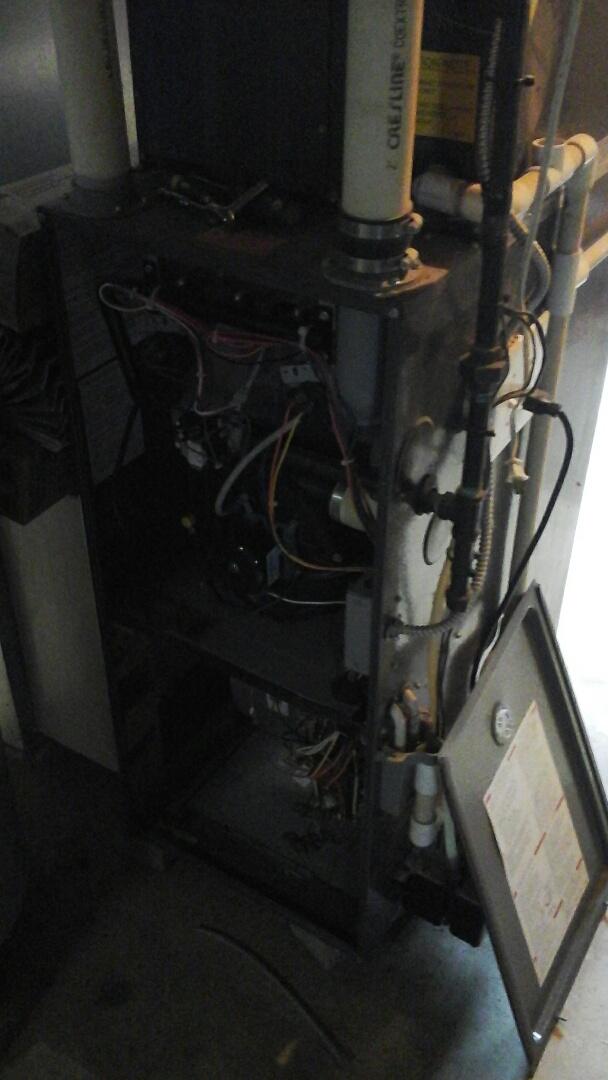 Albion, MI - Bad gas valve on Amana furnace