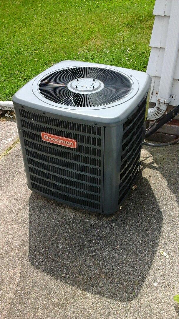 Albion, MI - Goodman Air conditioning repair