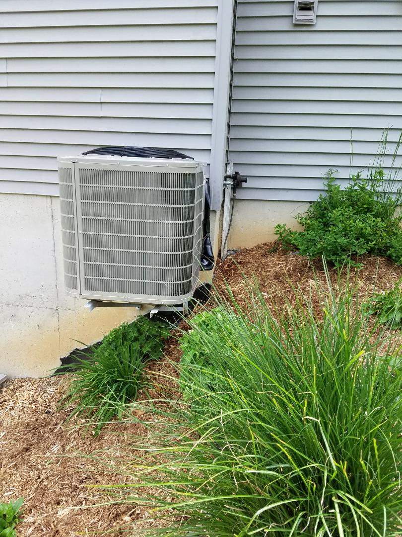 Charlotte, MI - Installed 3 ton bryant air conditioner