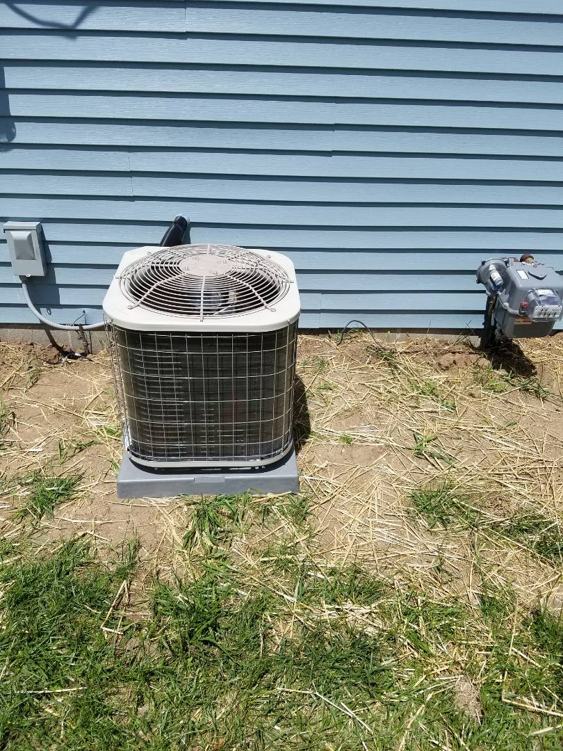 Athens, MI - New Payne air conditioner install