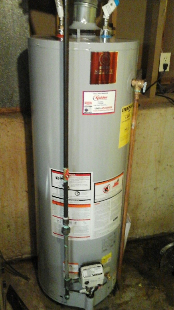 Augusta, MI - New Water heater
