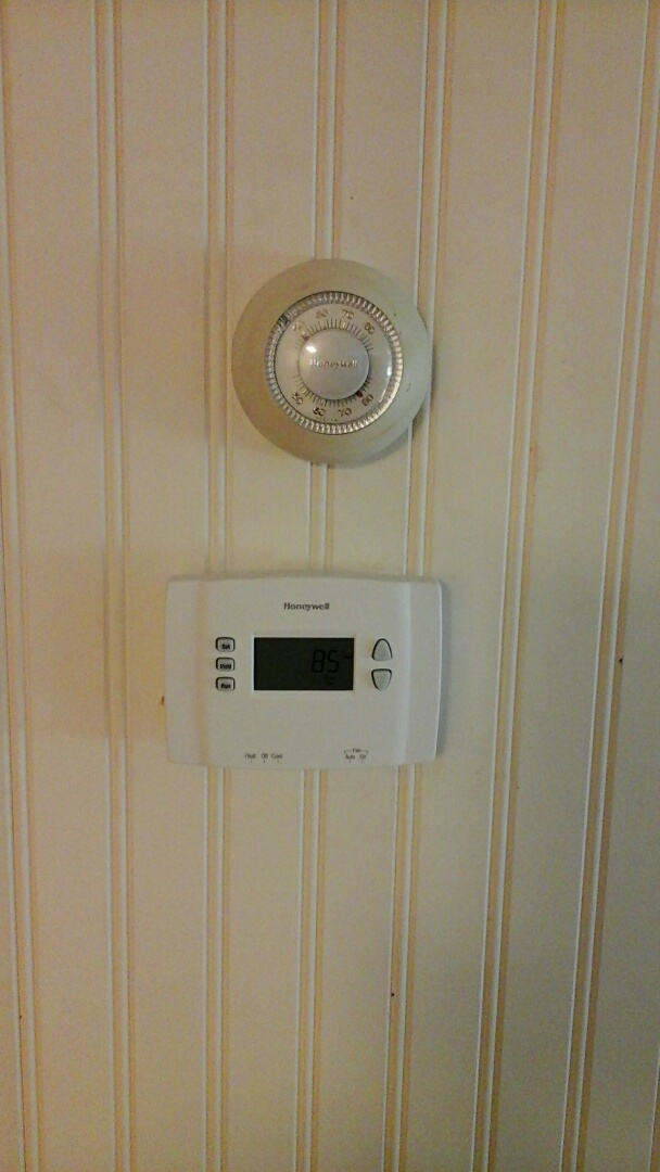 Burlington, MI - Thermostat wiring problem
