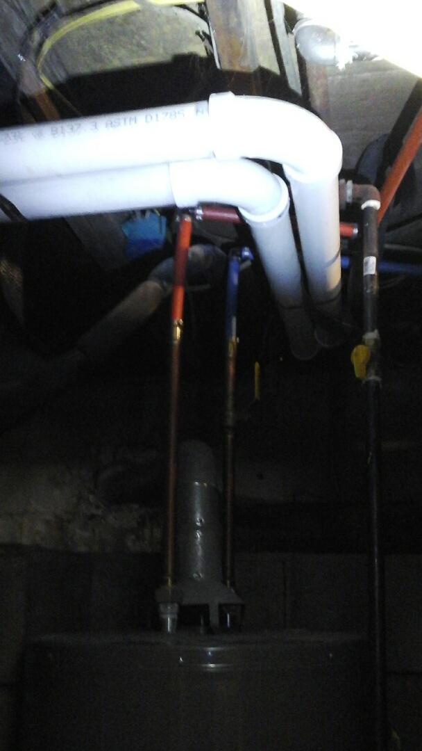 Battle Creek, MI - Proper vent pipe to furnacr