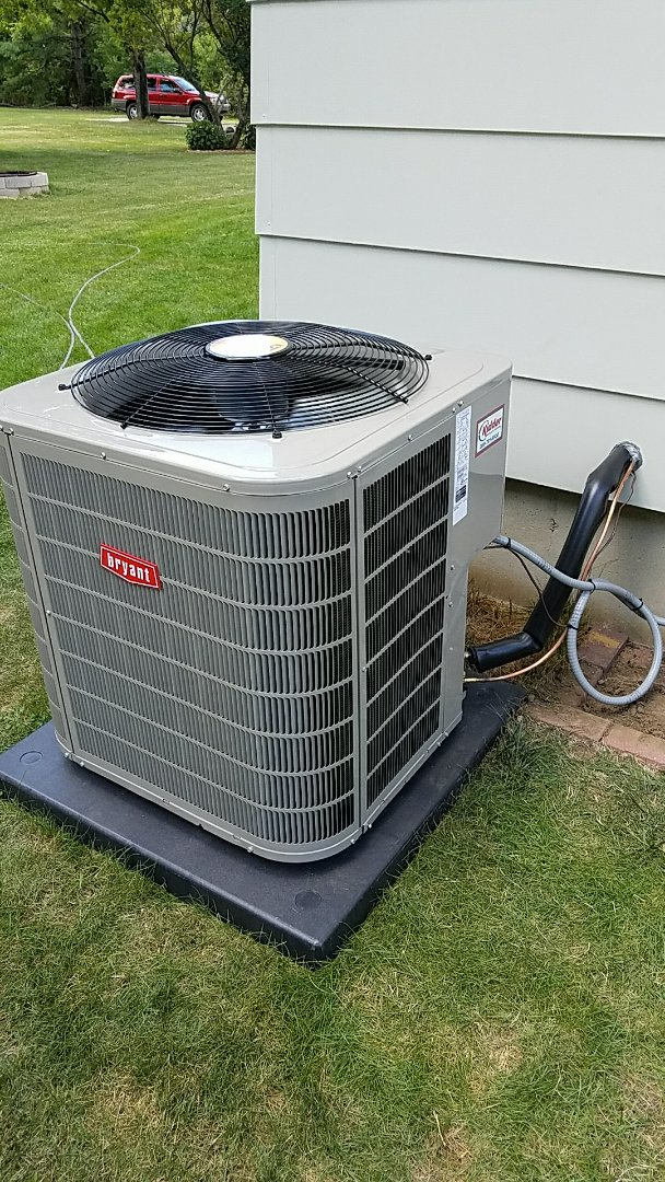 Burlington, MI - A/c and furnace installation