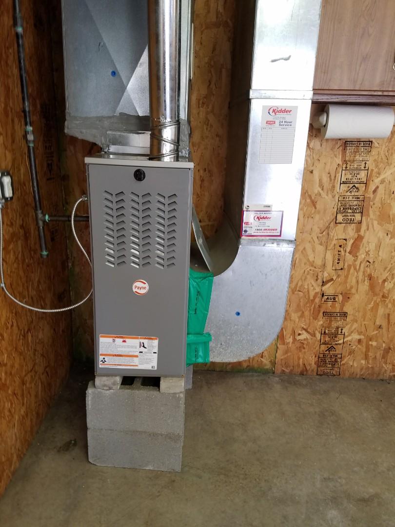Battle Creek, MI - New Bryant furnace install