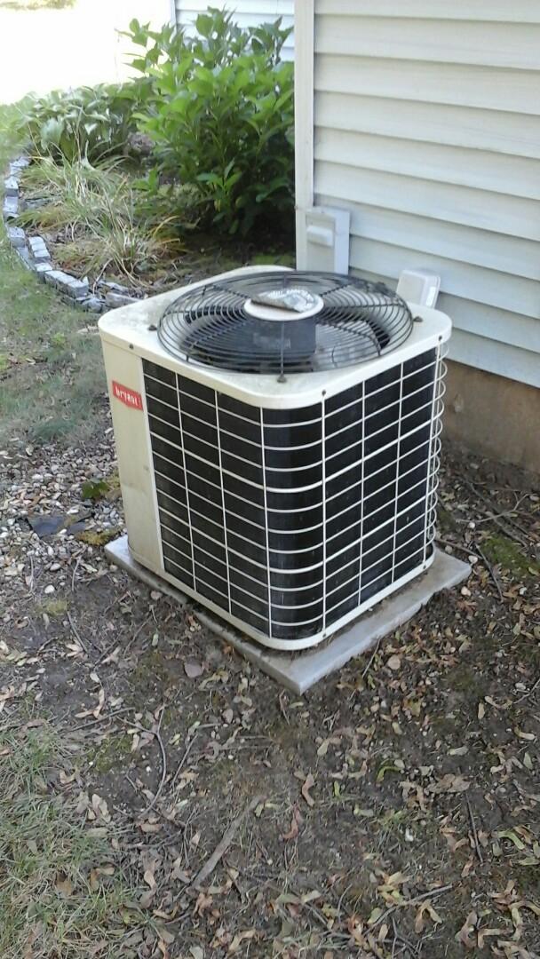 Battle Creek, MI - Older bryant air conditioner low on R-22 refrigerant
