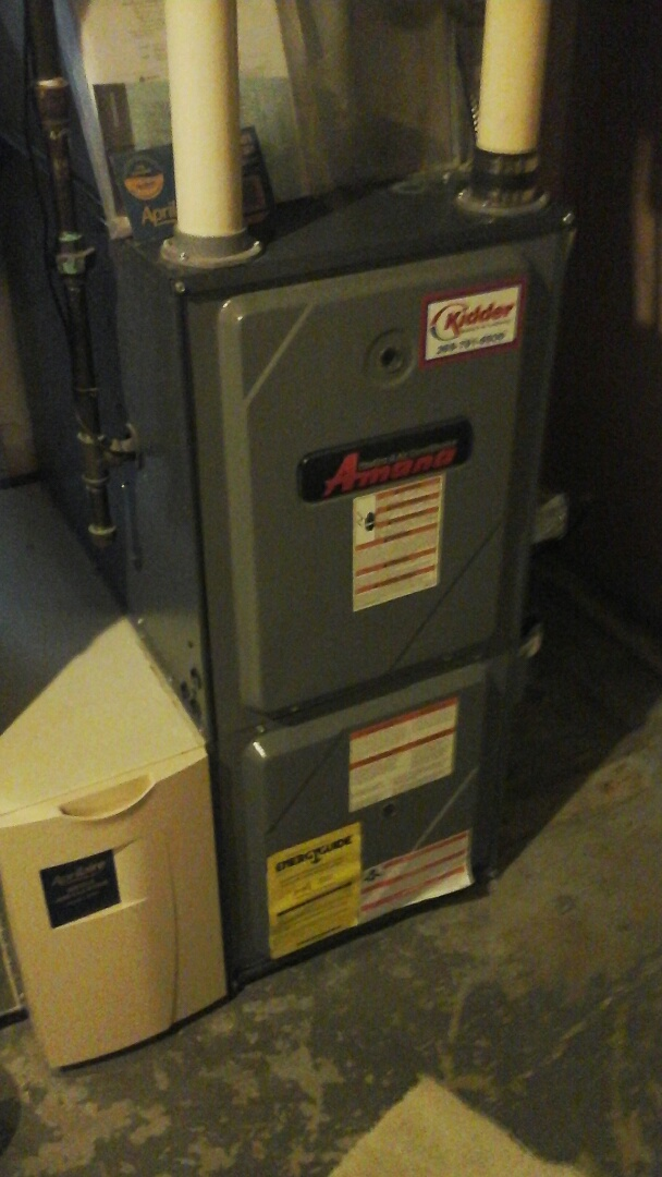 Battle Creek, MI - Amana furnace maintenance for house sale