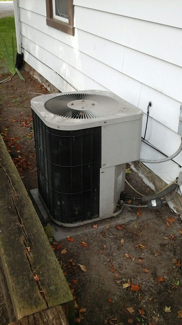 Climax, MI - Goodman Air conditioner repair fan not spinning