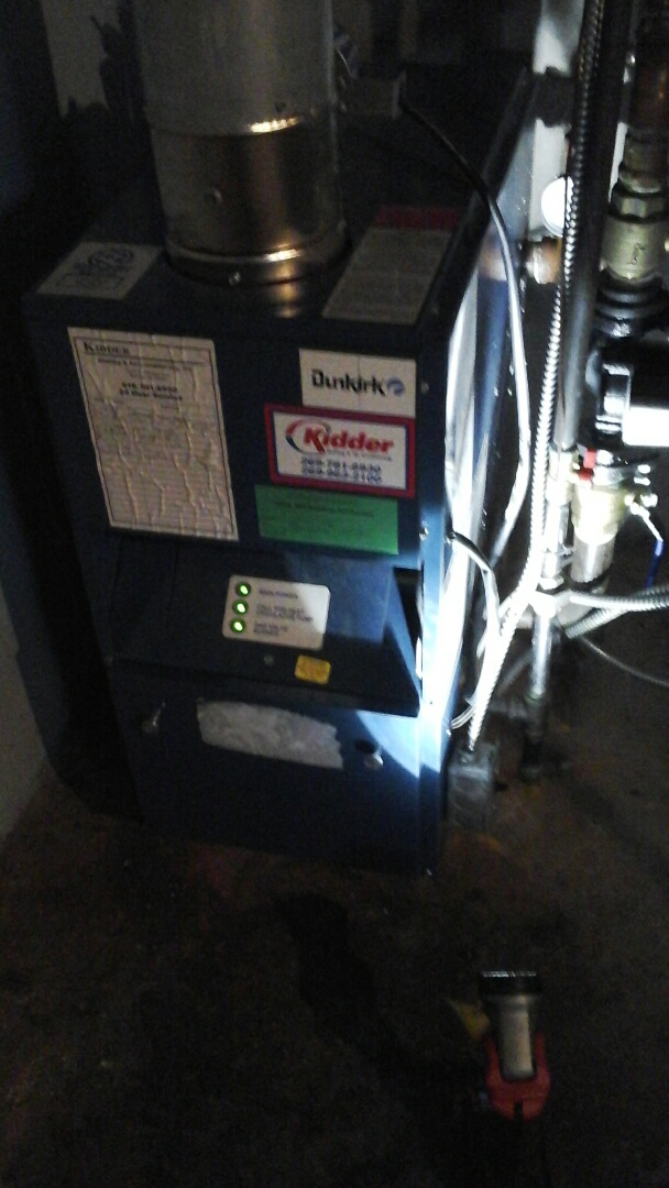 Burlington, MI - Dunkirk boiler tune up