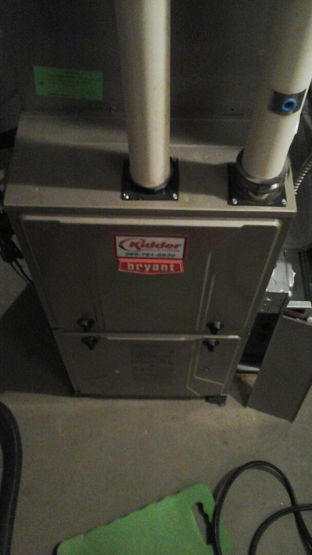 Union City, MI - Bryant furnace winter maintenance