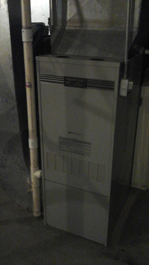 Albion, MI - Gas furnace tune up