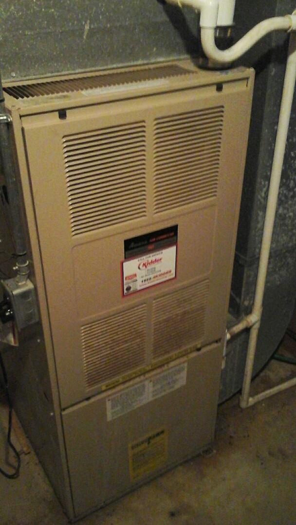 Athens, MI - Bad ignitor amana furnace