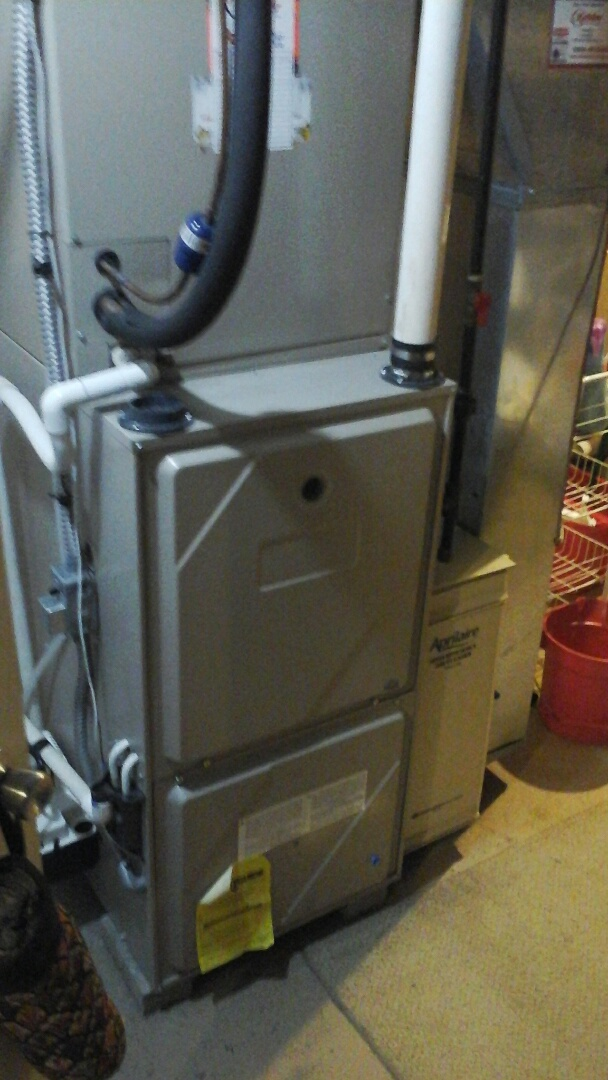 Olivet, MI - Diagnostic on a Amana, 80% furnace with HSI.