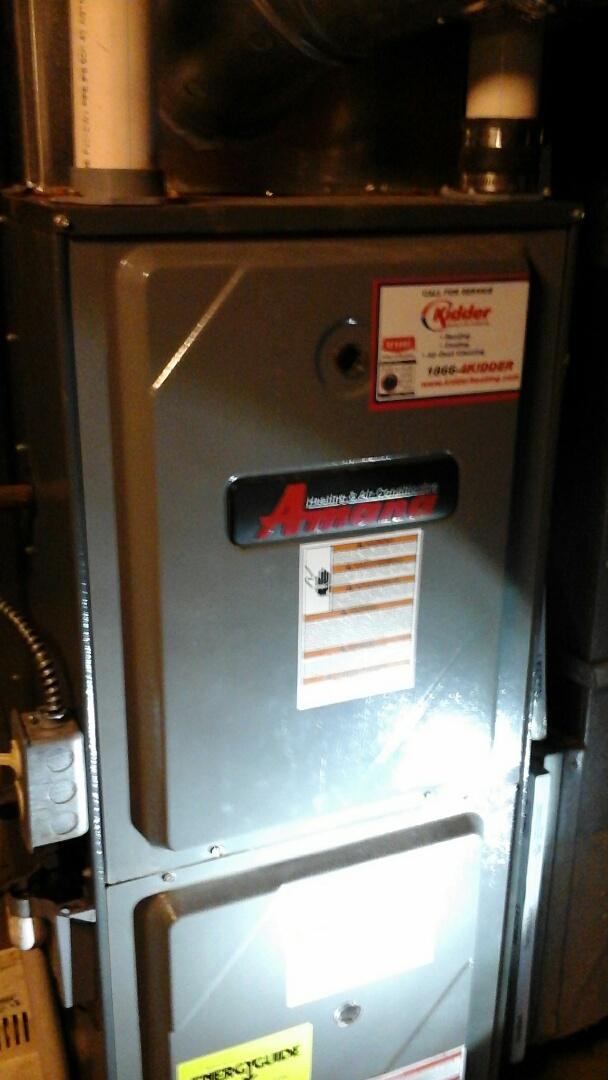 Bellevue, MI - Heat exchanger Amana furnace