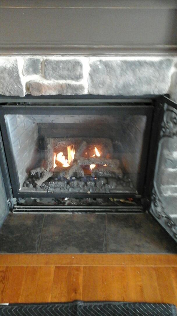 Ceresco, MI - Fireplace not working
