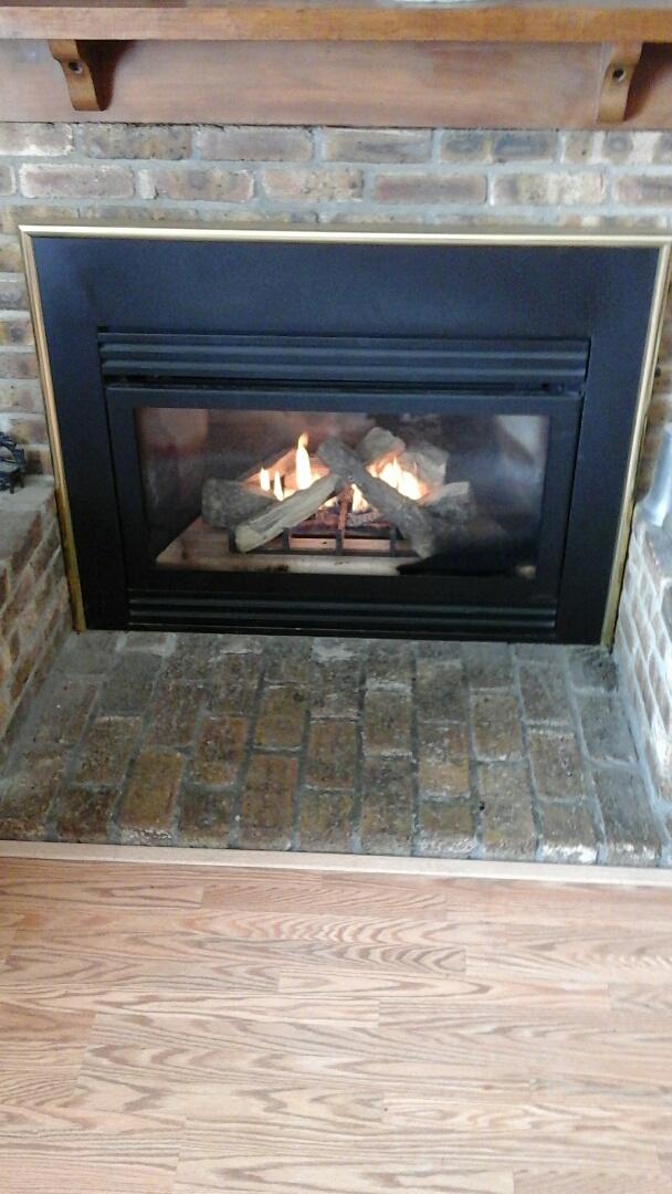 Albion, MI - Fireplace won't stay lit