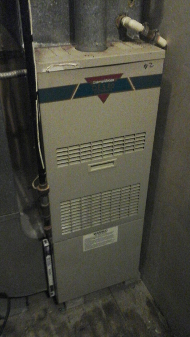 Marshall, MI - Emergency replacement of the start capacitor on a Intertherm gas furnace.