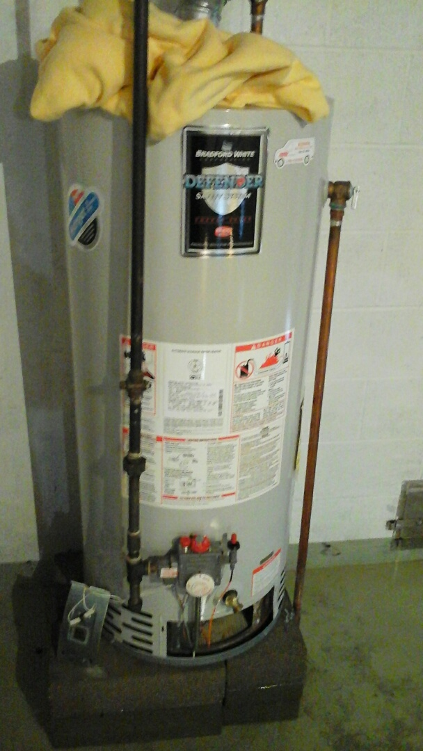 Burlington, MI - Diagnostics on a Bradford white water heater.