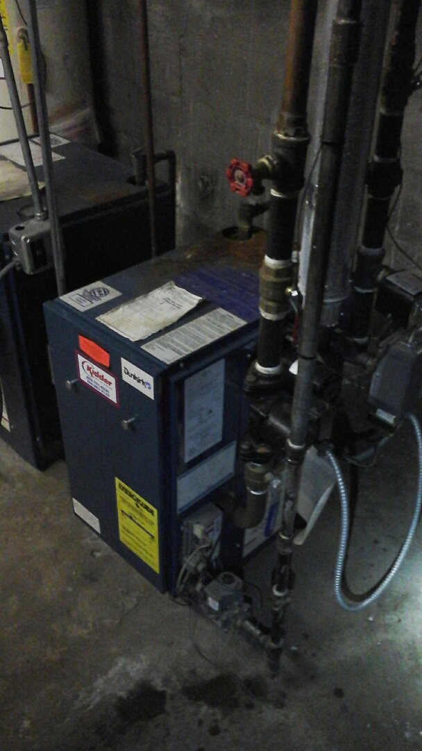 Marshall, MI - Replacement of the thermocouple on a low-pressure boiler.