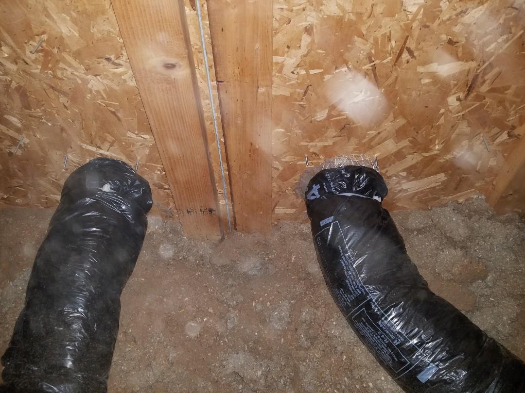 Marshall, MI - Vented New bathroom fans