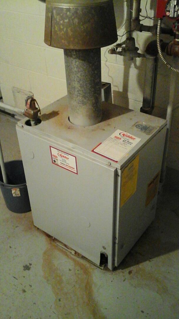 Marshall, MI - Diagnostics on a low-pressure boiler.