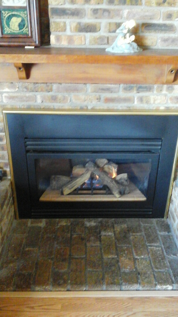 Albion, MI - Replacement of the thermocouple on a fireplace insert.