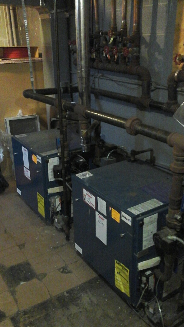 Tekonsha, MI - Safety inspection on two steam boilers.