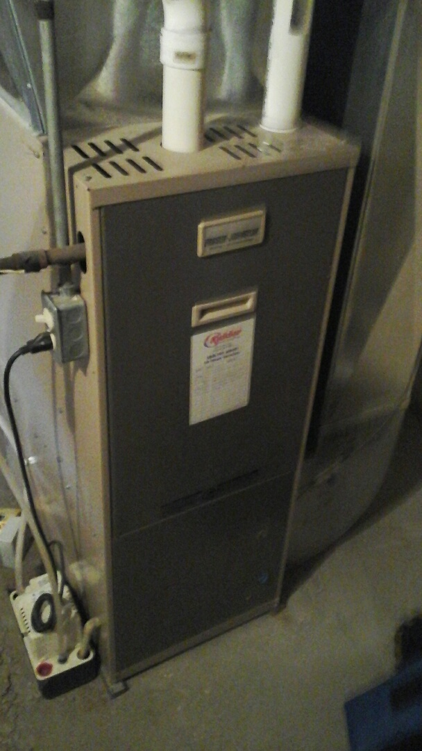 Union City, MI - Replacement of the Pressure switch on a Fraser Johnson, hi-efficiency furnace.