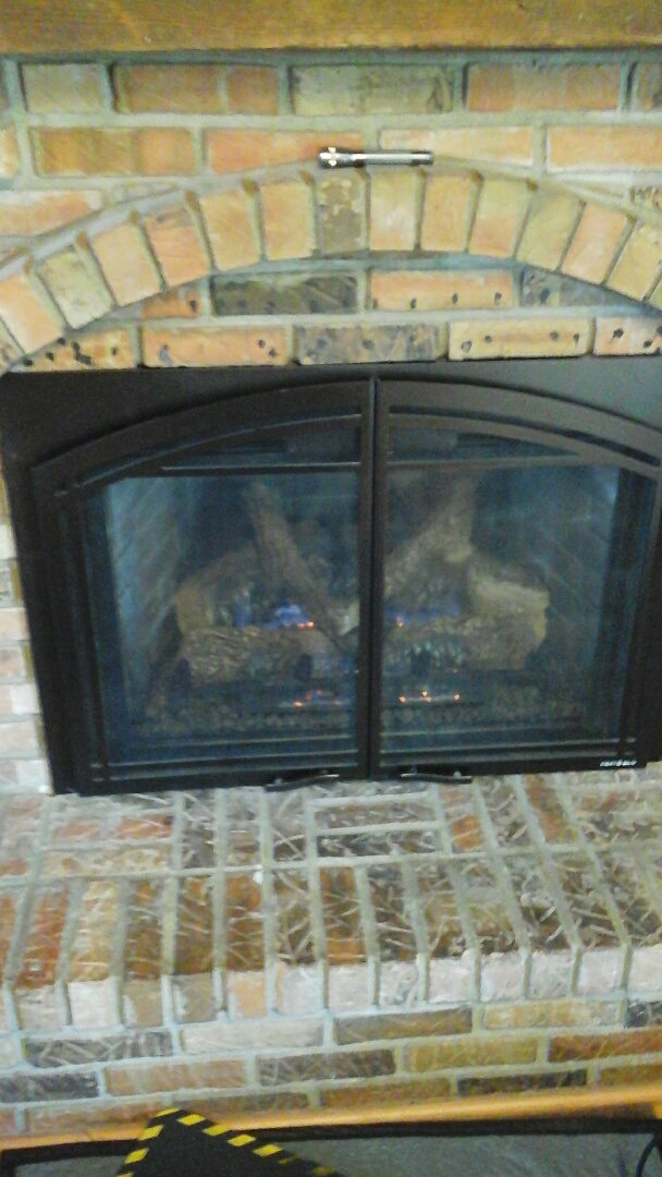 Battle Creek, MI - Diagnostics on a fireplace insert.
