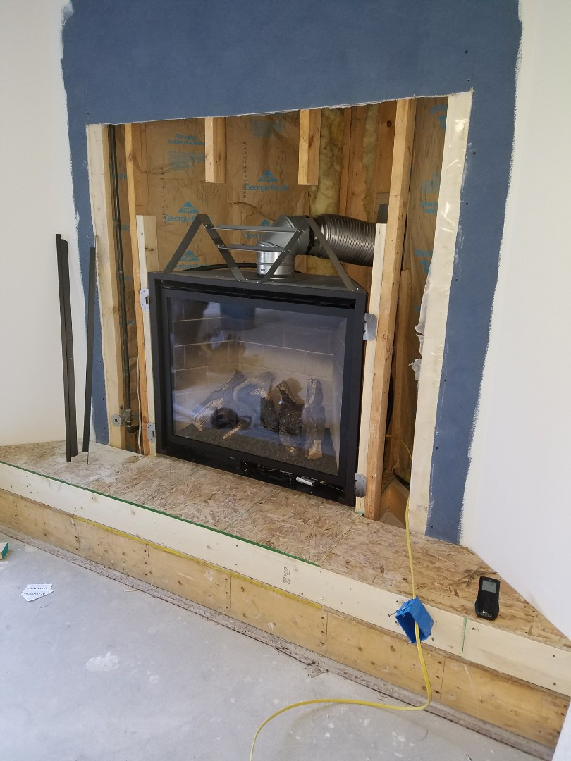 Coldwater, MI - New kozy heat insert fireplace install