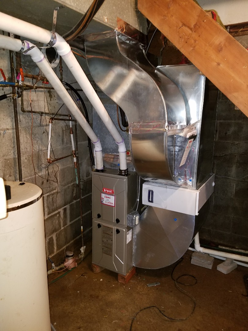 Albion, MI - Bryant furnace installation