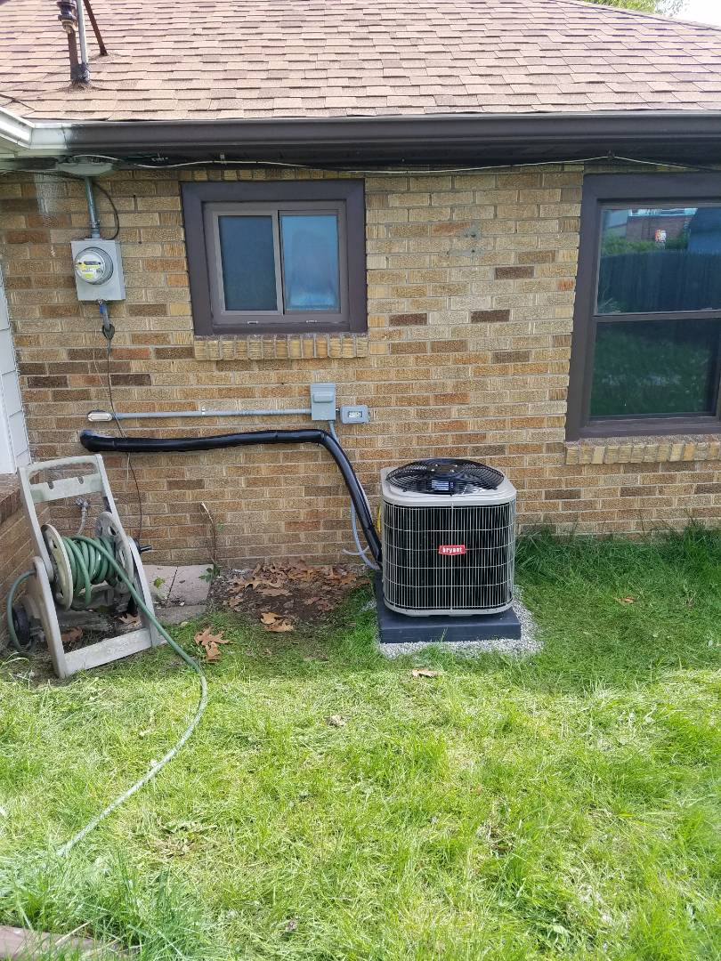 Battle Creek, MI - Bryant AC installation in battle creek