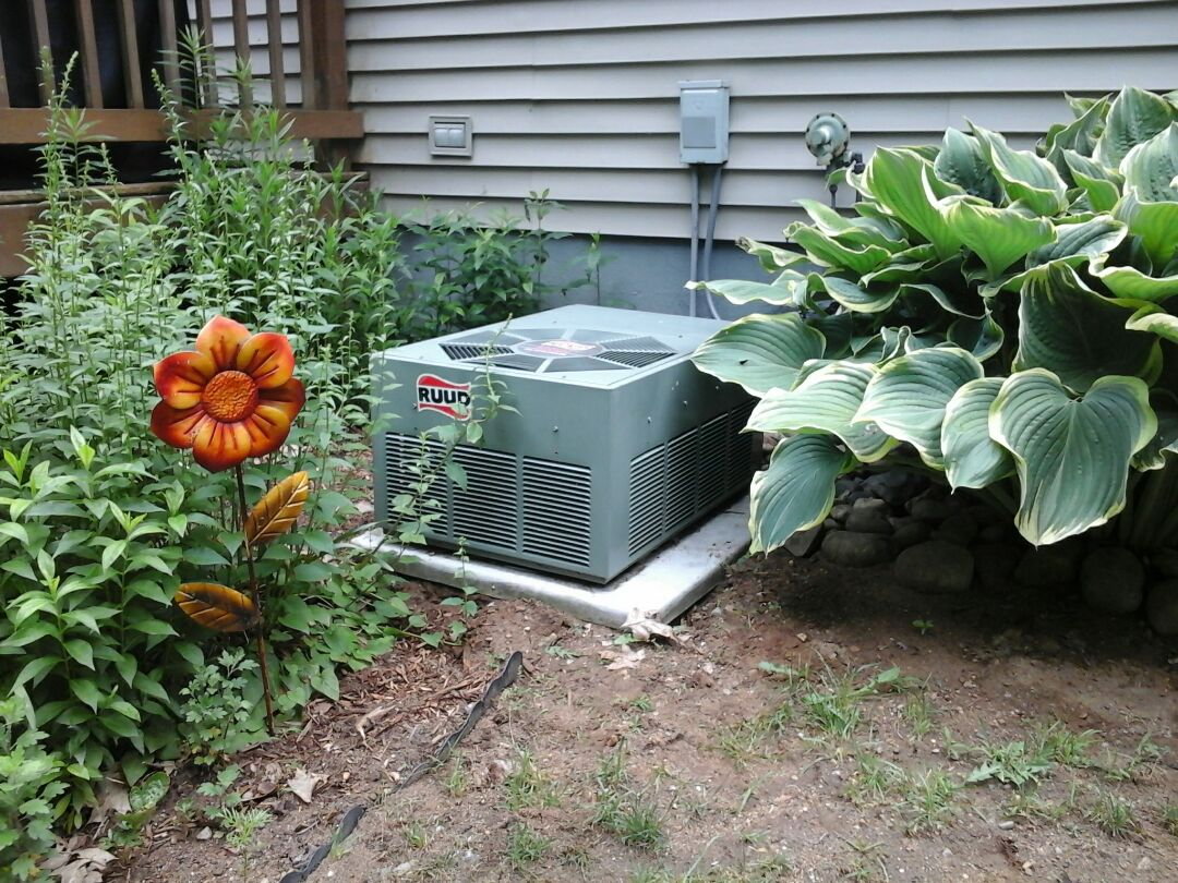 Athens, MI - Preventative maintenance tune up ruud air conditioner