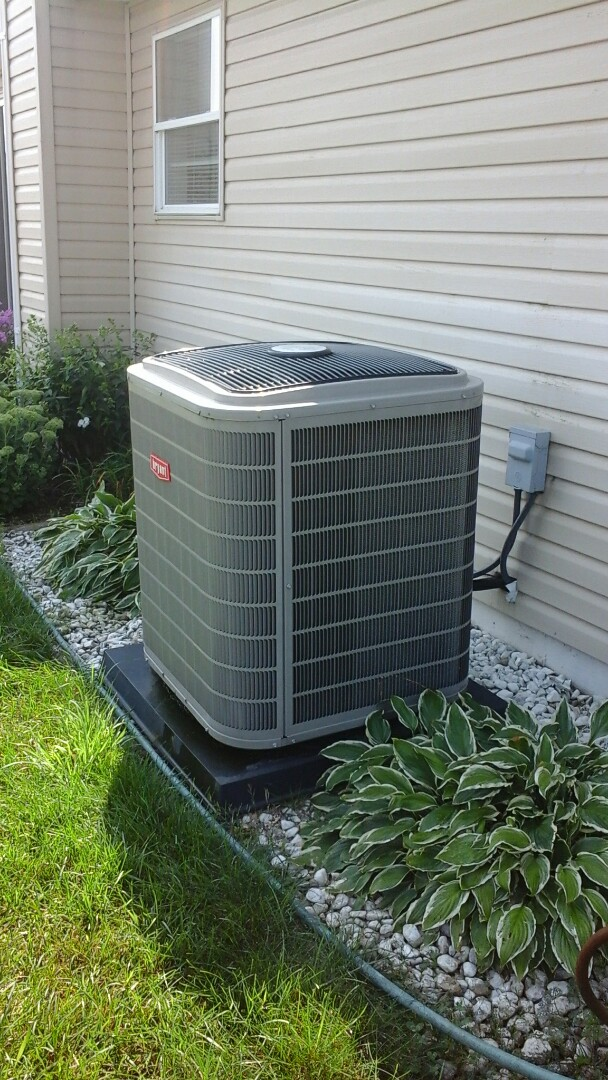 Bellevue, MI - Precision tune up on a Bryant air conditioning system with r410a refrigerant