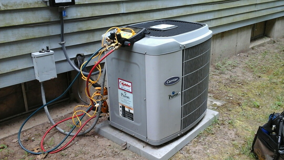 Battle Creek, MI - No AC, Buldged capacitor and Low 410A charge