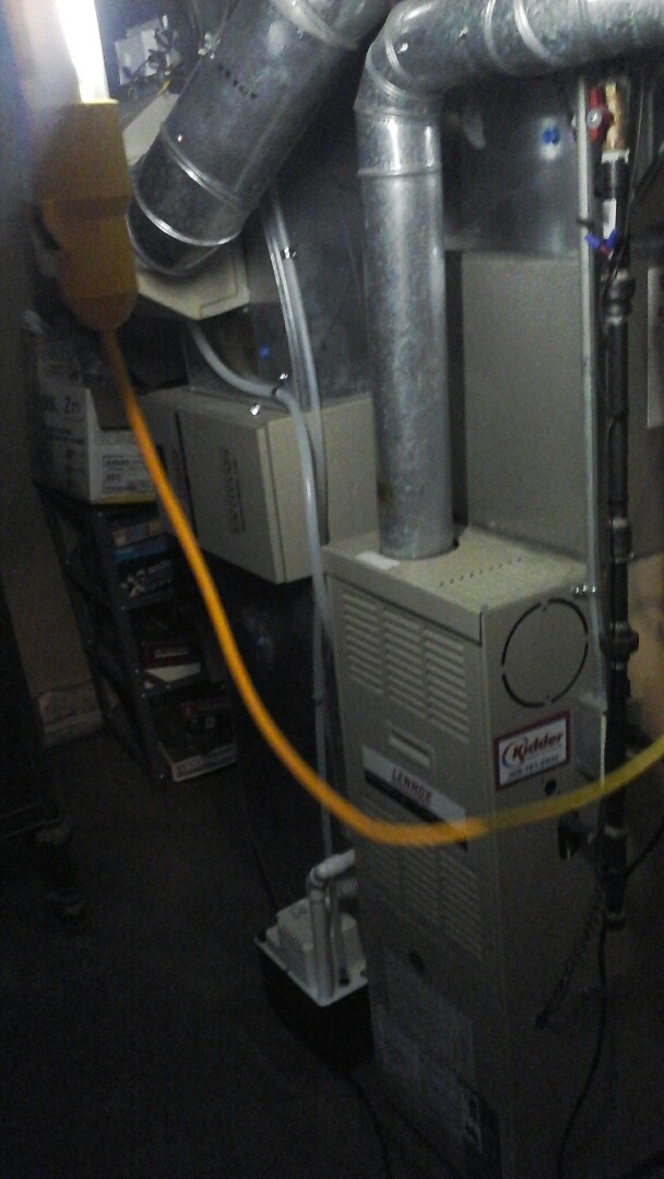 Marshall, MI - Furnace tune-up, replace flame sensor