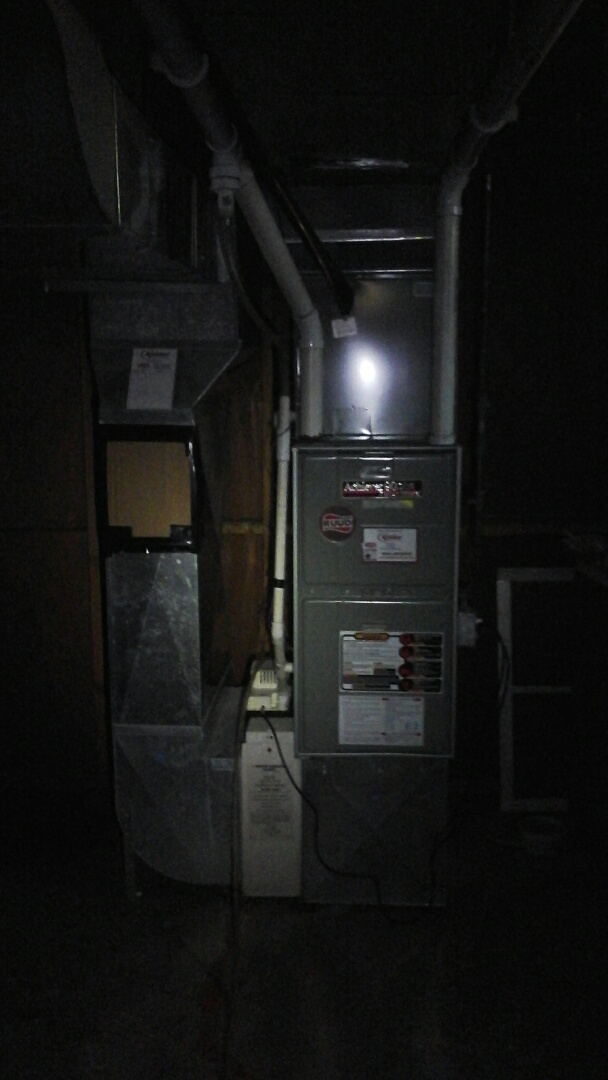 Union City, MI - Rudd furnace tune-up