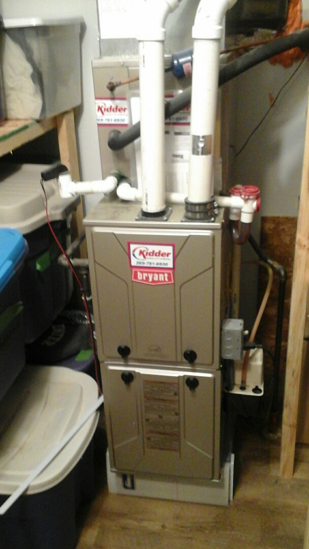 Olivet, MI - Bryant Furnace maintenance