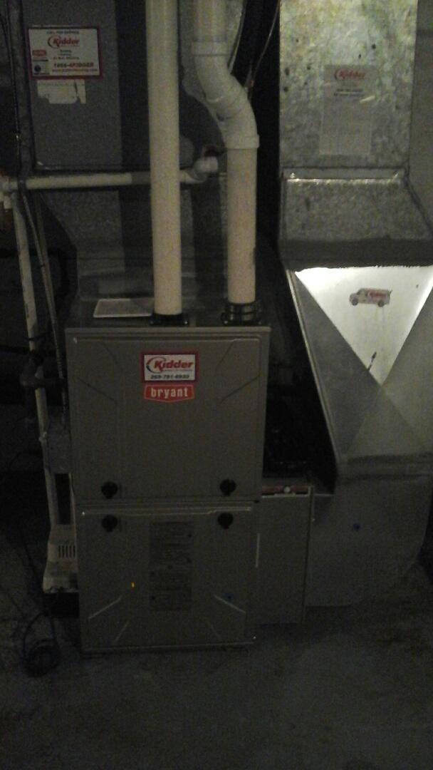 Marshall, MI - Bryant furnace maintenance